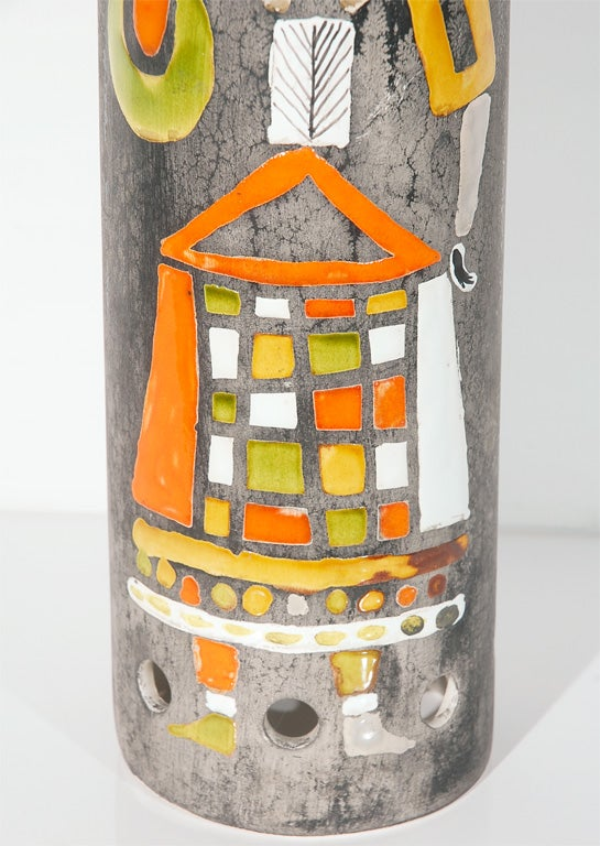 Ceramic Lamp Shade by Roger Capron 4