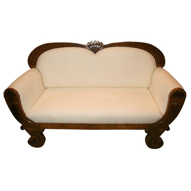 Austrian Biedermeier Sofa At 1stdibs