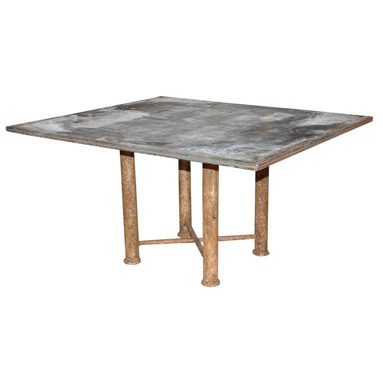 Zinc dining room