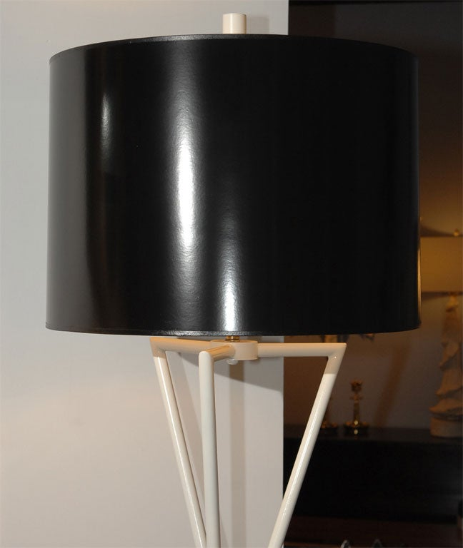 Pair of 1960's Decorative Floor Lamps In Excellent Condition In San Francisco, CA