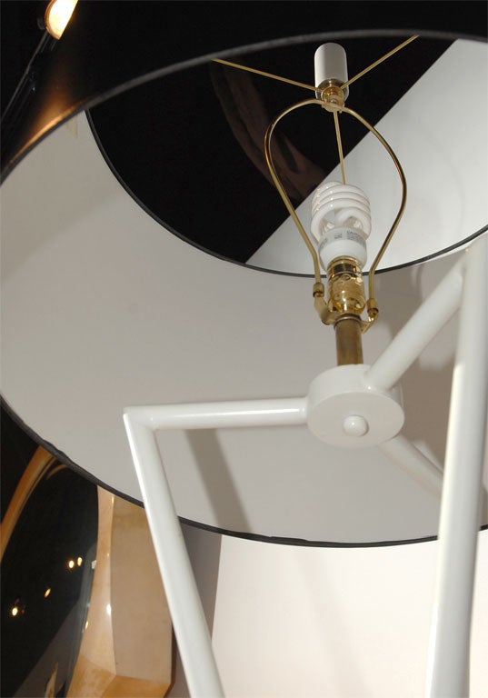 Mid-20th Century Pair of 1960's Decorative Floor Lamps