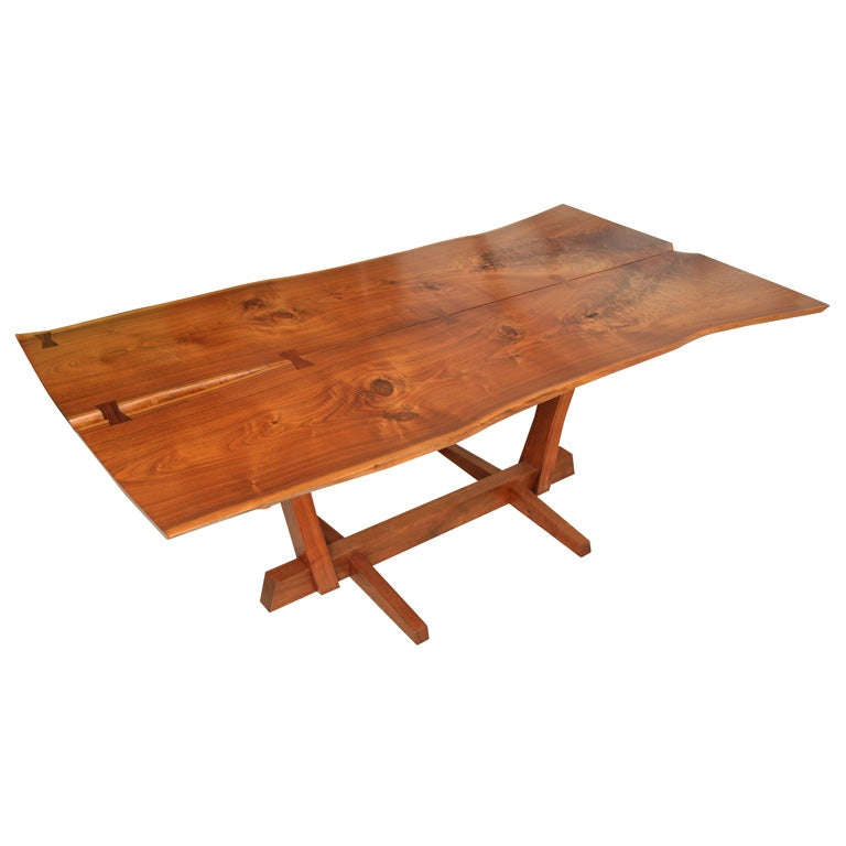 George Nakashima Conoid Dining Table at 1stdibs