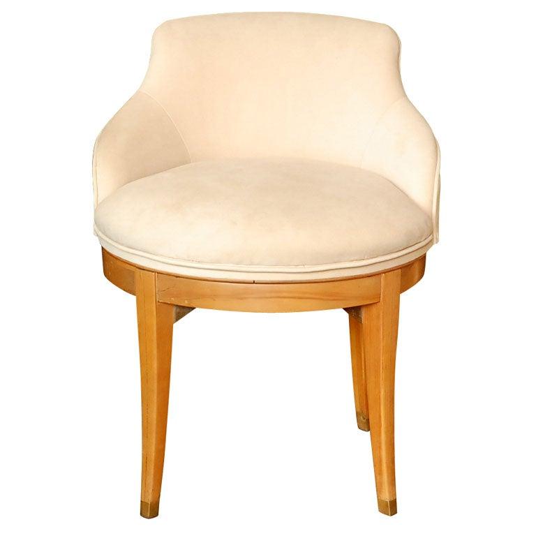 Swivel Upholstered Vanity Chair Upholstered Swivel Stool