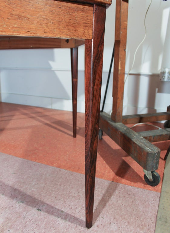 6 sided rosewood table at 1stdibs