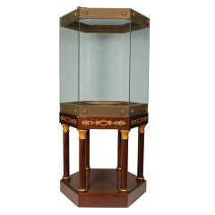 Superb Custom Made Empire Style Vitrine