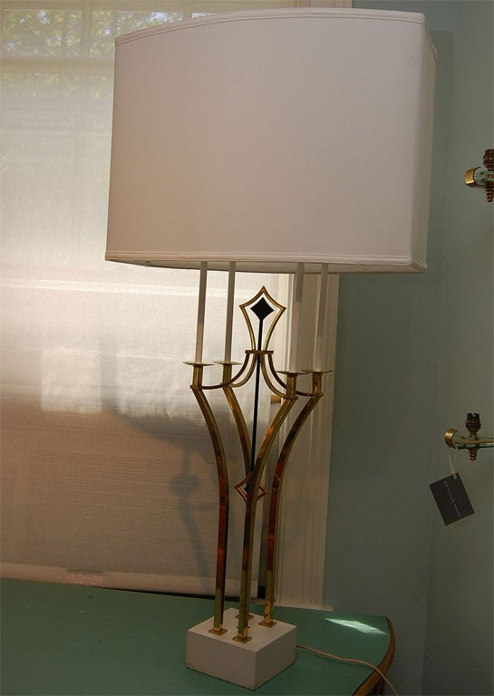 Tall Parzinger-Style Table Lamp 4