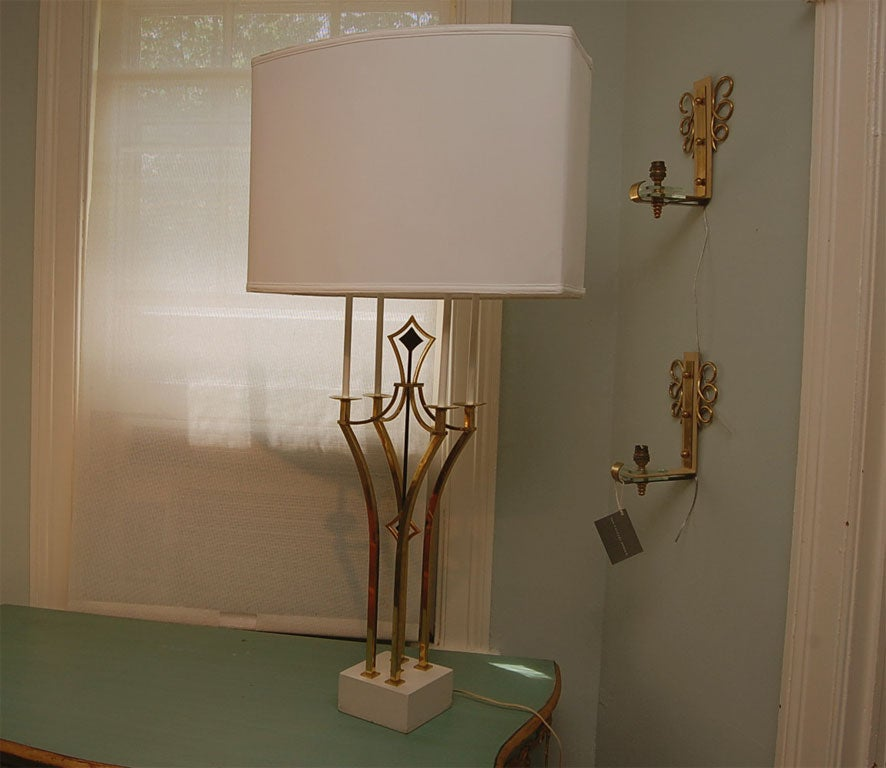 Tall Parzinger-Style Table Lamp 5