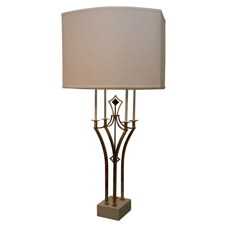 Tall Parzinger-Style Table Lamp 1