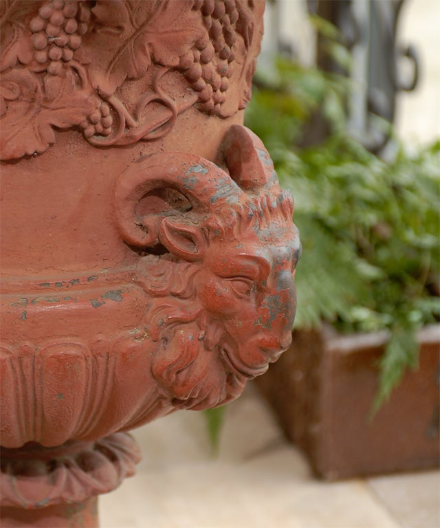 19th Century Iron Urn For Sale 2