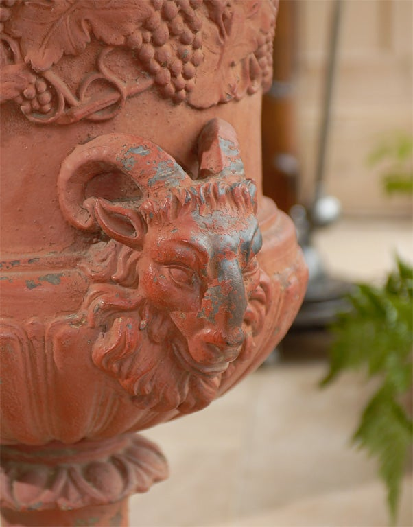 19th Century Iron Urn For Sale 4