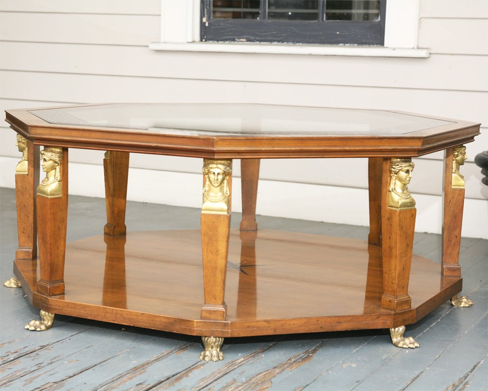 this vintage baker empire coffee table is no longer available