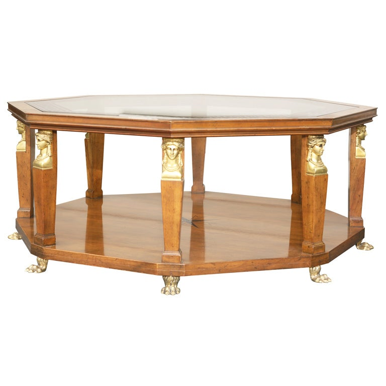 Vintage Baker Coffee Tables: Vintage Baker Empire Coffee Table At 1stdibs