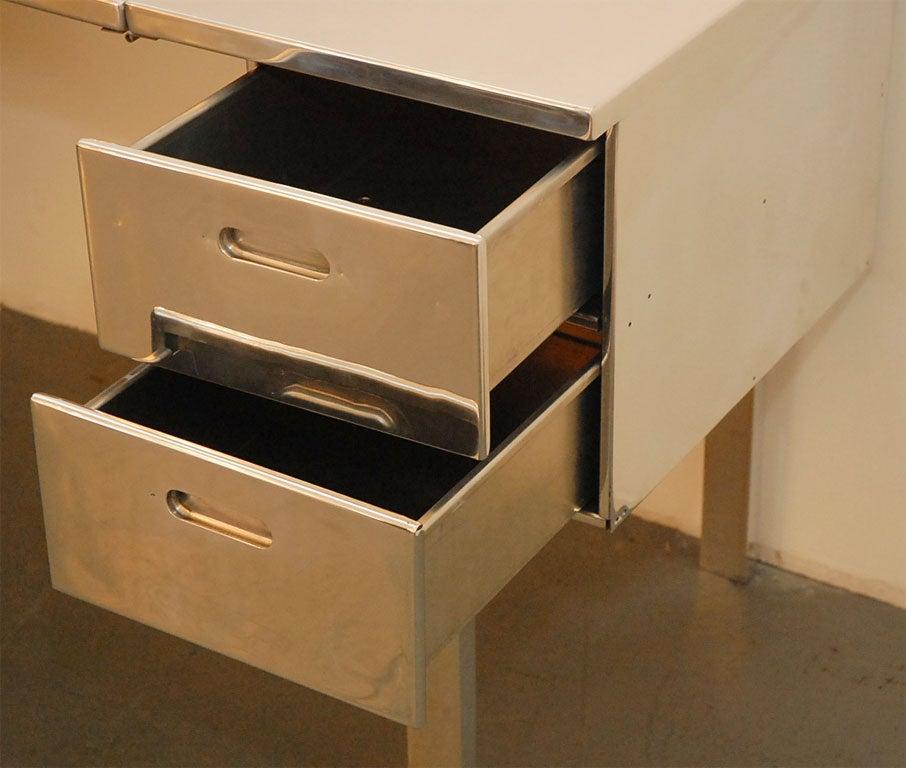 Aluminum Campaign Desk 2