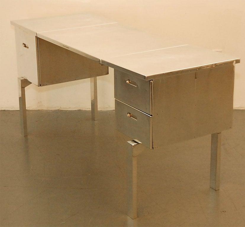 Aluminum Campaign Desk 3