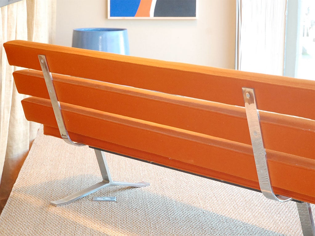 Gerald Mccabe Steel Frame Sofa At 1stdibs