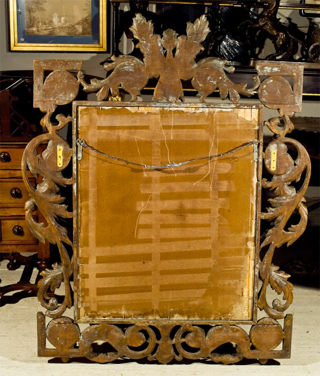 Fruitwood Mirror For Sale 1