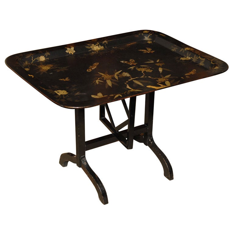 Papier Mâché Tray Table