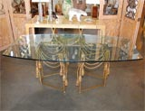 Gilded Rope Dining Table by Edna Cox image 2