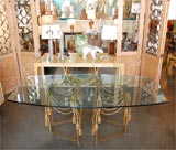 Gilded Rope Dining Table by Edna Cox image 3