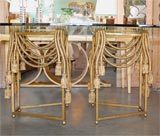 Gilded Rope Dining Table by Edna Cox image 4