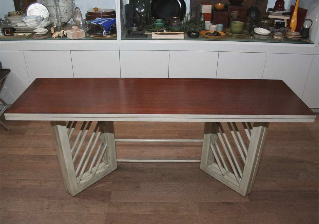 convertible console and dining table at 1stdibs
