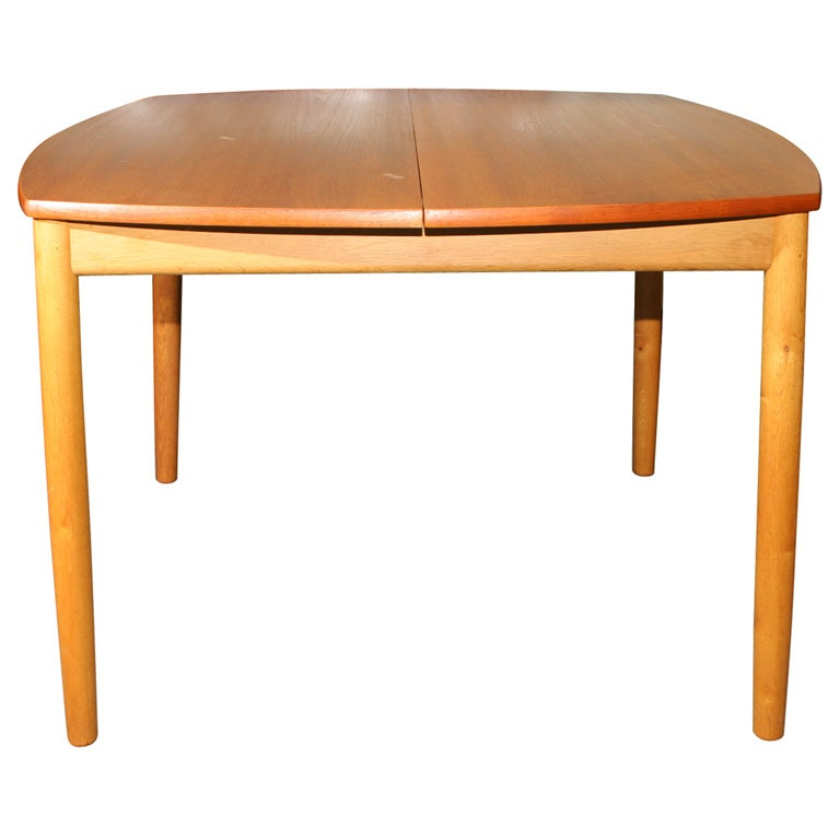 Square Dining Table With Butterfly Leaf At 1stdibs