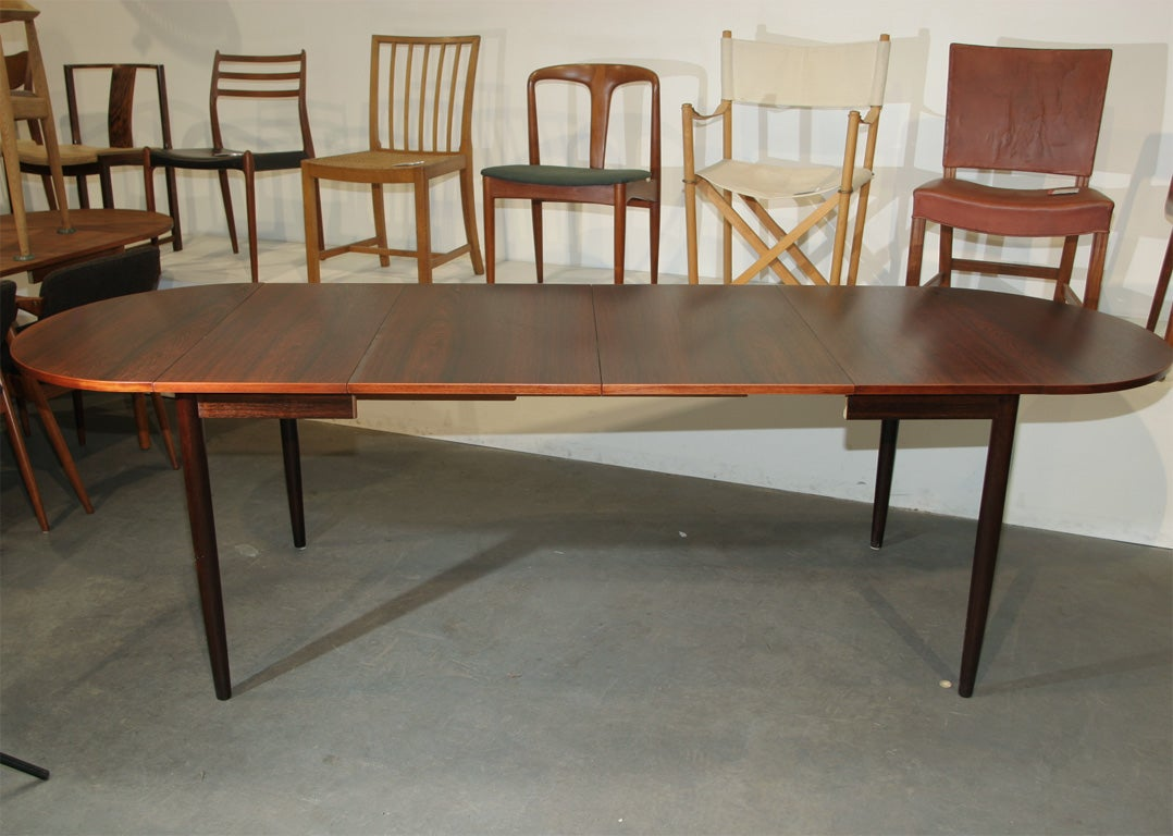 this narrow rosewood oval dining table is no longer available