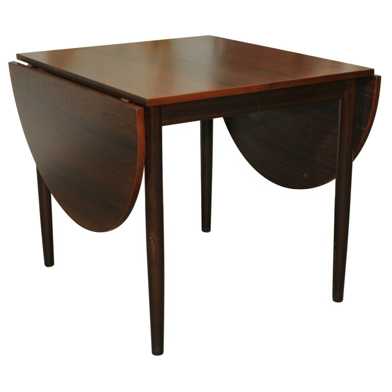 Narrow Dining Room Tables: Narrow Rosewood Oval Dining Table At 1stdibs