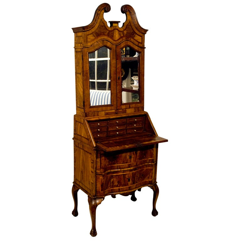 Venetian rococo bureau secretaire at 1stdibs for Bureau secretaire
