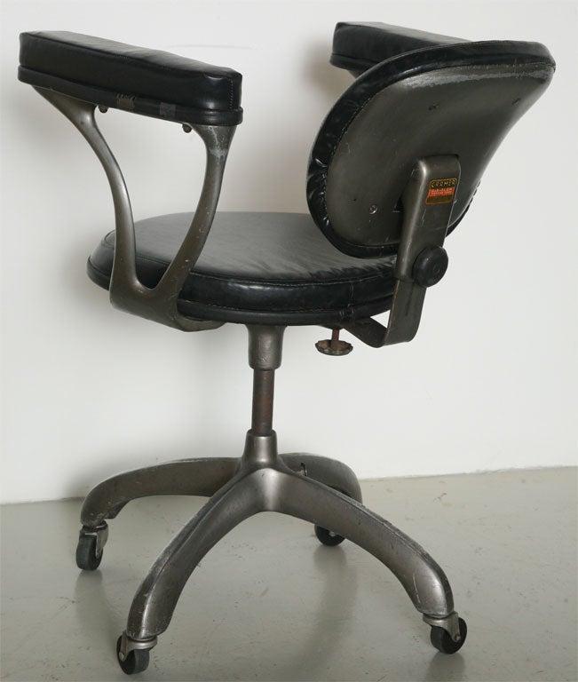 1950s Ergonomic Desk Chair At 1stdibs