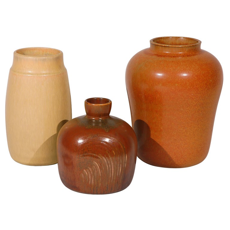 Collection Of Saxbo Vases