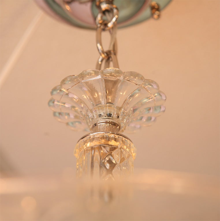 French Deco Chandelier, Detailed Design 10