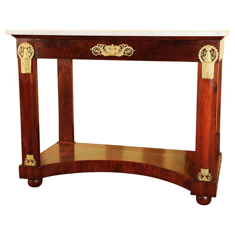 Classical console or pier table at 1stdibs for Sofa table pier one