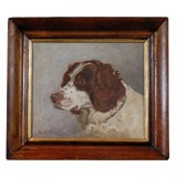 English  Sporting Dog Painting