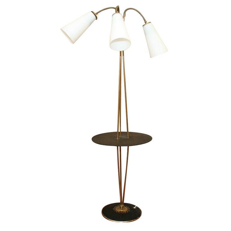 Stilnovo Standing Floor Table Lamp At 1stdibs