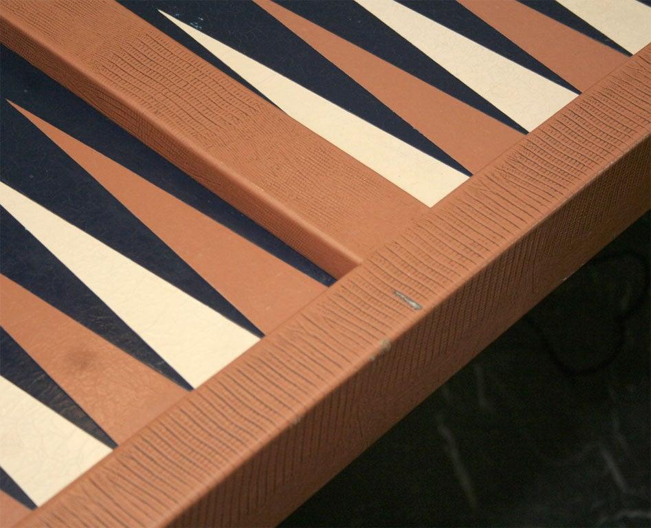 KARL SPRINGER BACKGAMMON TABLE 7