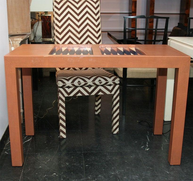 KARL SPRINGER BACKGAMMON TABLE 8