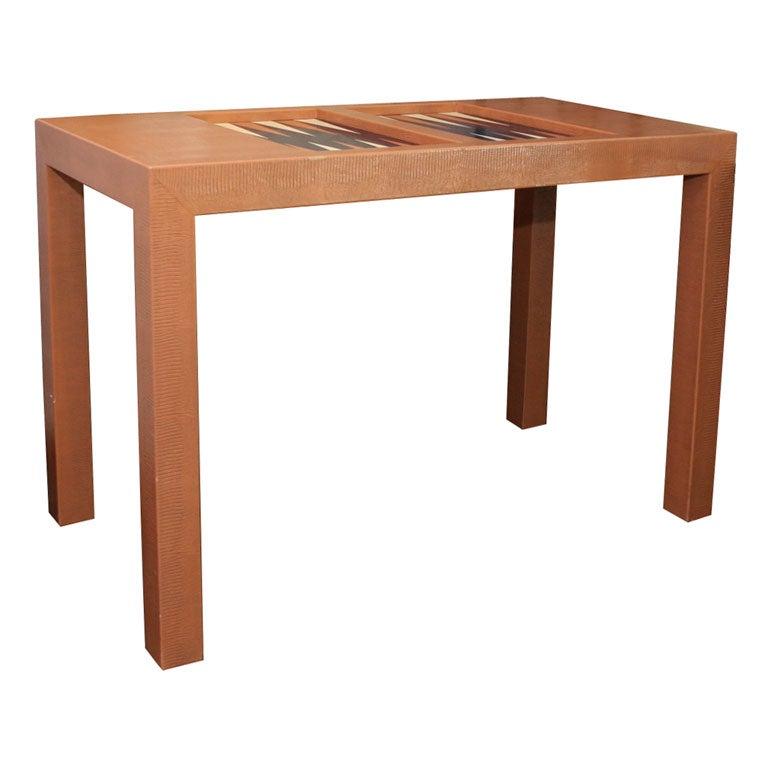 KARL SPRINGER BACKGAMMON TABLE 1