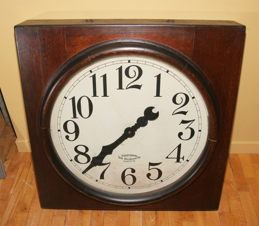 Large time punch clock. For Sale 1