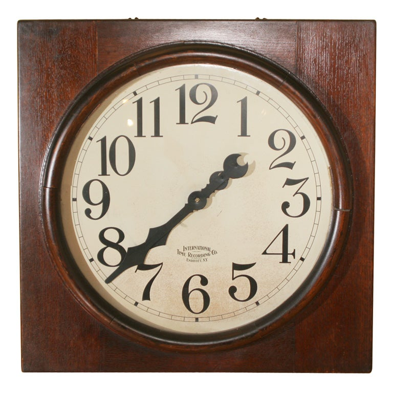 Large time punch clock. For Sale