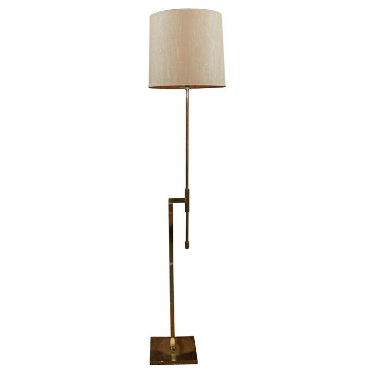 Modernist Adjustable Floor Lamp by Laurel