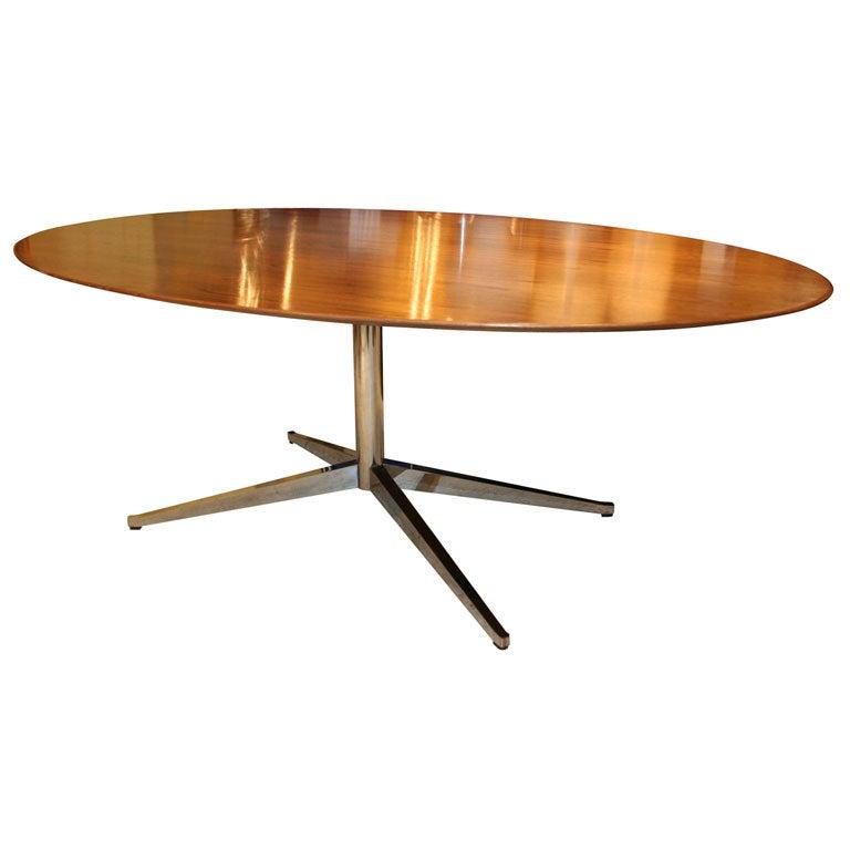 Table Knoll Ovale Vintage