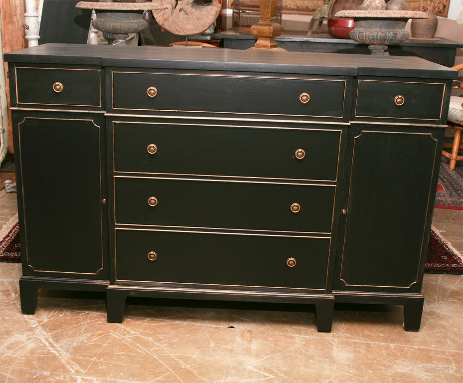 Painted Empire Style Sideboard At 1stdibs