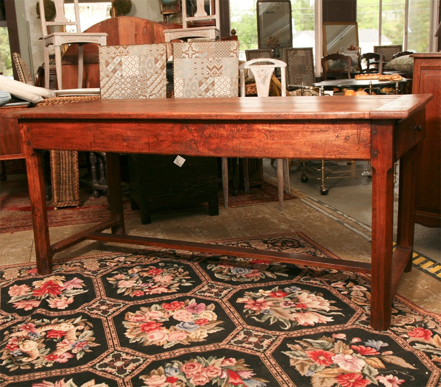 Rustic French Farm Table at 1stdibs