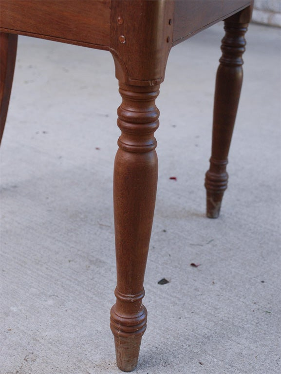 Set Of Ten 19th Century British Colonial Dining Chairs At