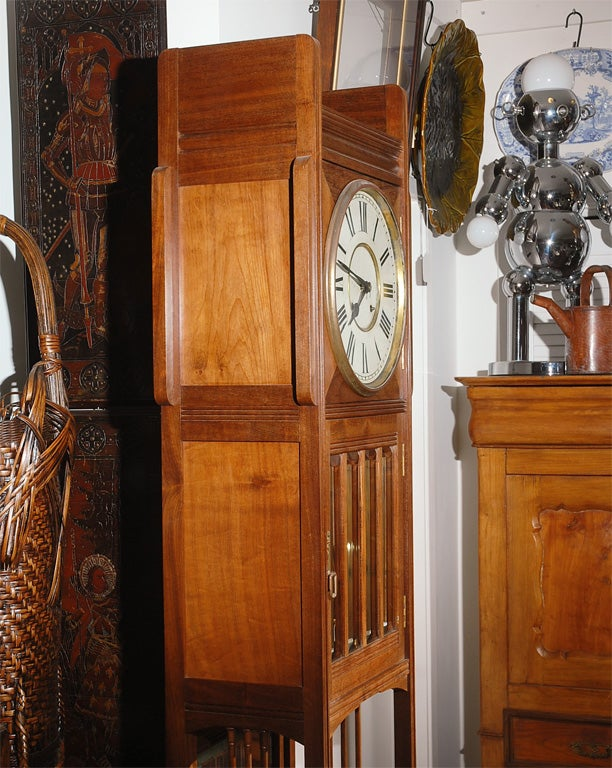 Ansonia Tall Case Clock For Sale 1