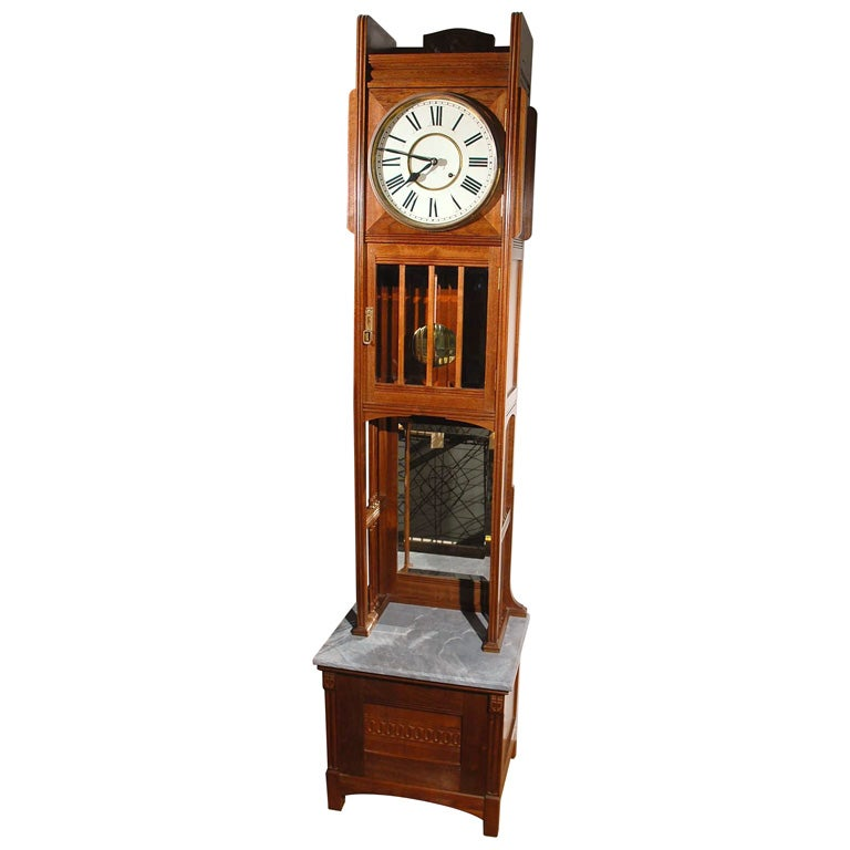 Ansonia Tall Case Clock