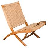 Hans Wegner style Folding Chair