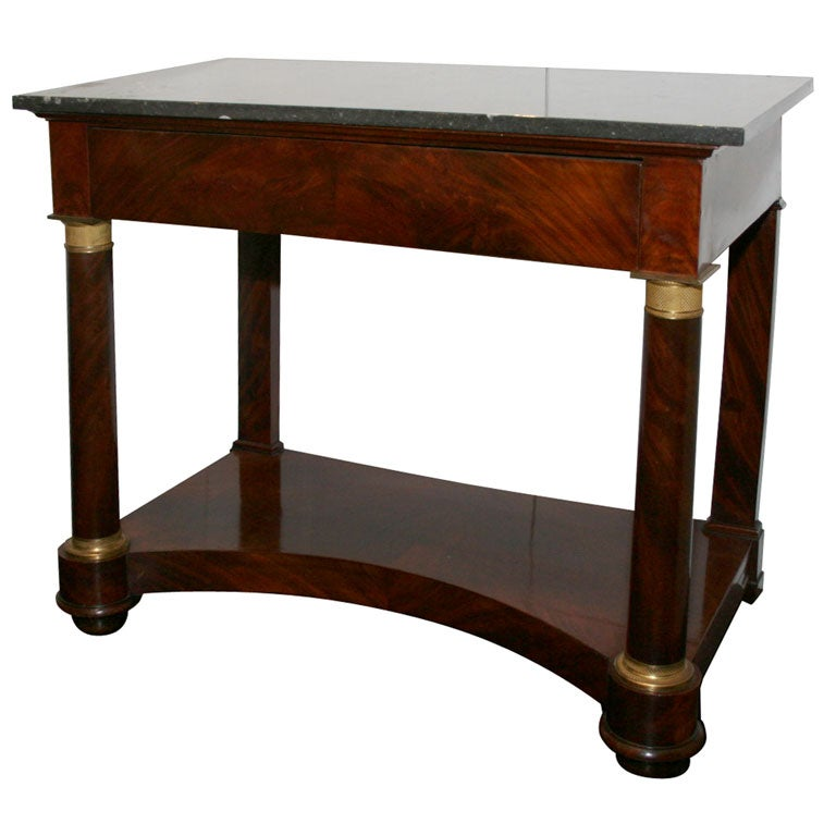 this french empire mahogany console table is no longer available