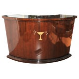 Art Deco Wood Martini Bar